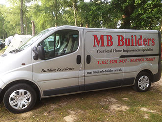 builder in gosport mb builders company van