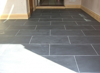 Floor tiling by MB Builders, Gosport, Hampshire