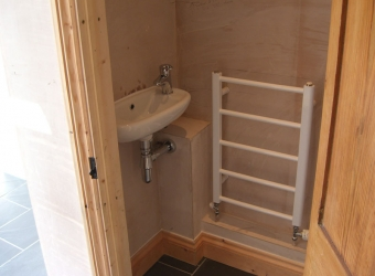 Cloakroom installation by MB Builders, Gosport, Hampshire