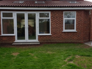 Rear house extension by MB Builders, Gosport, Hampshire