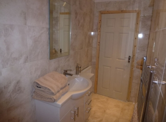 New bathroom installation by MB Builders, Gosport, Hampshire