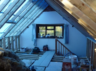 Loft conversion by MB Builders, Gosport, Hampshire