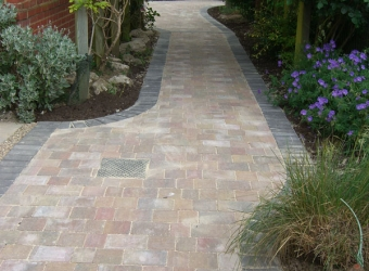Garden paving by MB Builders, Gosport, Hampshire